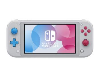 Nintendo Switch Lite w limitowanej edycji Zacian and Zamazenta