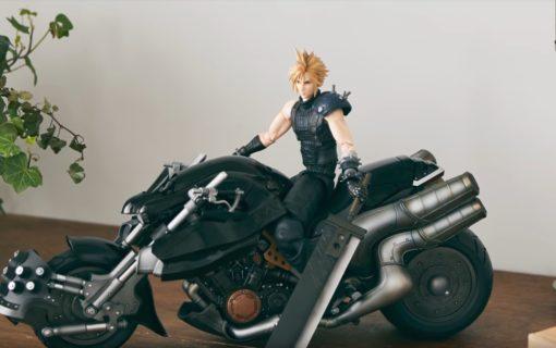 Pierwszy materiał prezentujący figurkę z kolekcjonerki Final Fantasy VII Remake