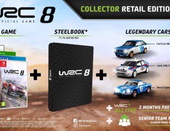 Steelbook w specjalnym wydaniu WRC 8 Collector Edition
