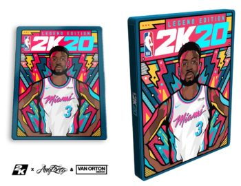 NBA 2K20 z własnym steelbookiem