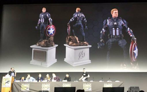 Kolekcjonerka Marvel's Avengers z figurką Kapitana Ameryki