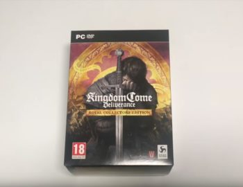 Edycja Kolekcjonerska Kingdom Come: Deliverance Royal na unboxingu