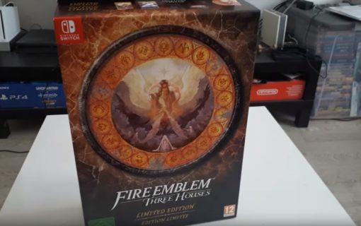Unboxing limitowanego wydania Fire Emblem Three Houses