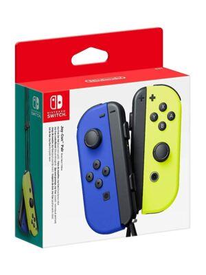 Nintendo Switch Joy-Con Niebieski / Żółty Neon
