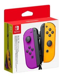 Nintendo Switch Joy-Con Fioletowy Neon / Pomarańczowy Neon