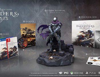 Zapowiedziano kolekcjonerskie wydania Darksiders Genesis