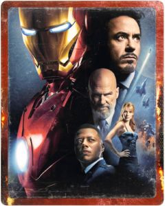 Iron Man 4K Zavvi Steelbook