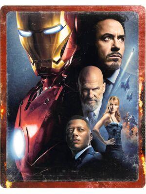 Iron Man 4K Zavvi Steelbook
