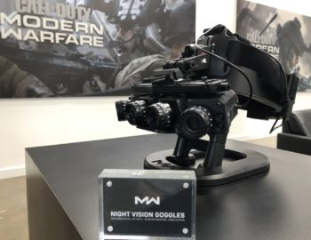 Gogle noktowizyjne w kolekcjonerce Call of Duty: Modern Warfare