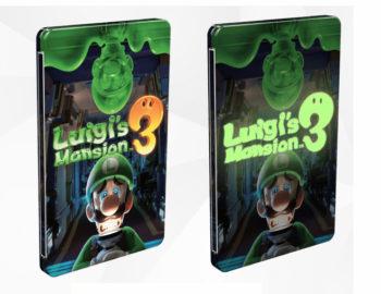 Steelbook z Luigi's Mansion 3 dostępny w GAME