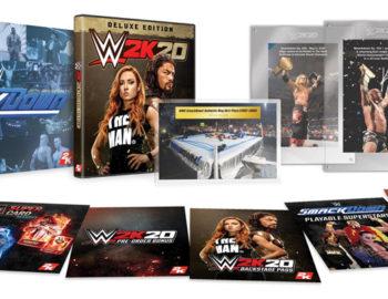 Kolekcjonerka i bonusowy Steelbook z WWE 2K20
