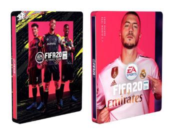 Steelbooki z FIFA 20 dostępne w przedsprzedaży za 19,99 zł
