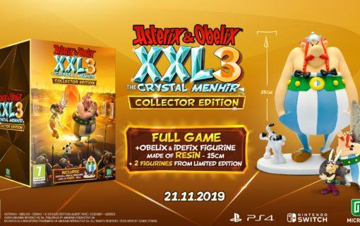Asterix & Obelix XXL 3: The Crystal Menhir z datą premiery i specjalnymi edycjami