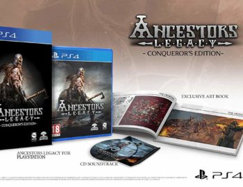 Specjalne wydanie Ancestors Legacy Conqueror's Edition na Playstation 4
