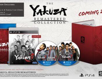 Zapowiedziano pudełkowe wydanie The Yakuza Remastered Collection