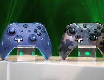 Xbox One z nowymi kontrolerami. Poznajcie limitowane edycje Sport Blue i Night Ops Camo.