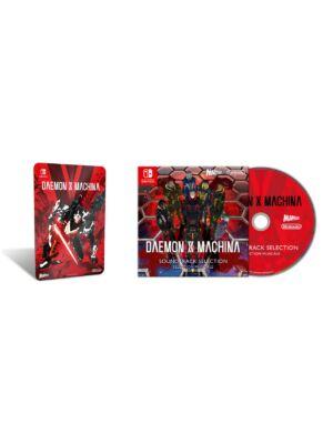 Daemon X Machina metalowa płytka i CD z muzyką