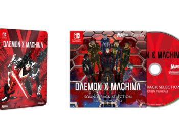 Przedsprzedażowe gratisy do standardowej edycji Daemon X Machina
