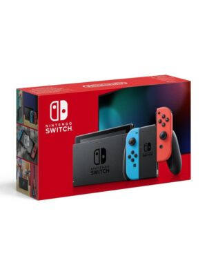 Konsola Nintendo Switch Red & Blue wersja 1.1