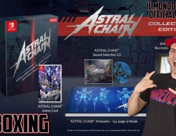 Unboxing kolekcjonerskiego wydania Astral Chain