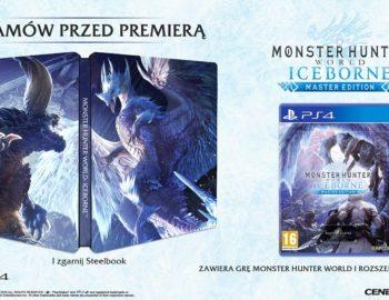 Steelbook z Monster Hunter World Iceborne jako przedsprzedażowy bonus w polskich sklepach