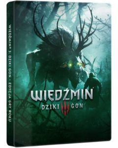 Wiedźmin 3: Dziki Gon Gra Roku Steelbook