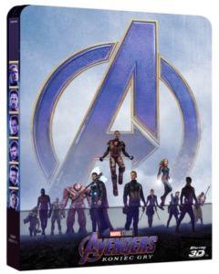 Avengers: Koniec Gry Steelbook