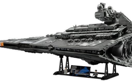 Gwiezdny Niszczyciel Imperium kolejnym zestawem Lego z Gwiezdnych Wojen