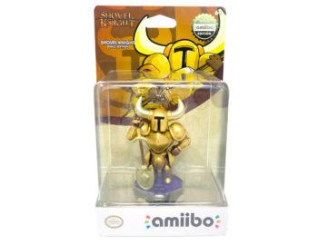 Złote amiibo Shovel Knight w przedsprzedaży. Kolejne figurki z oficjalną datą premiery