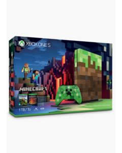 Xbox One S Edycja Limitowana Minecraft