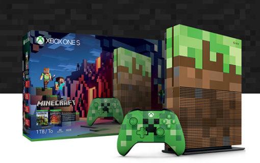 Xbox One S Limitowana Edycja Minecraft