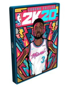 NBA 2K20 Steelbook