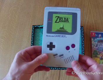 Limitka The Legend of Zelda: Link's Awakening na pierwszym unboxingu