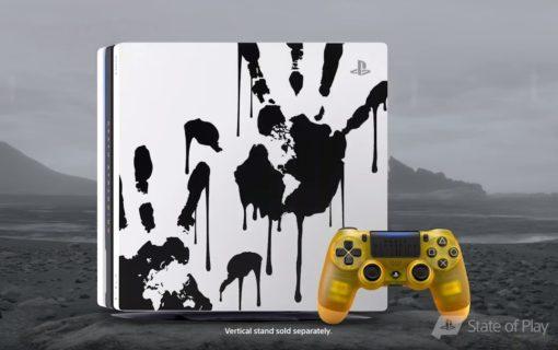 Playstation 4 Pro w limitowanej edycji Death Stranding