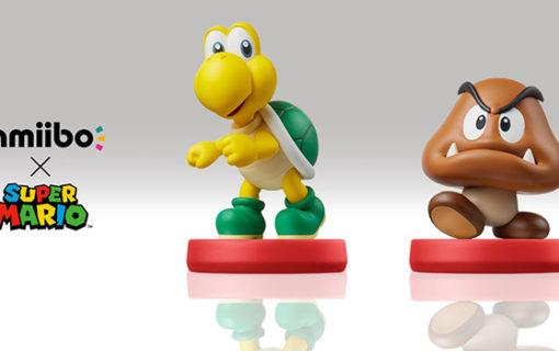 Amiibo Koopa Troopa i Goomba z Super Mario dostępne w przedsprzedaży