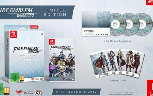 Fire Emblem Warriors z limitowaną edycją na Nintendo Switch