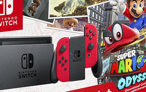 Limitowana konsola Nintendo Switch w zestawie z Super Mario Odyssey