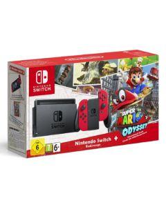Nintendo Switch zestaw z Super Mario Odyssey