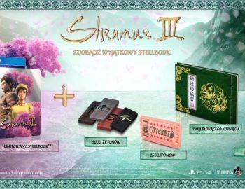 Steelbook z Shenmue III także w polskich sklepach