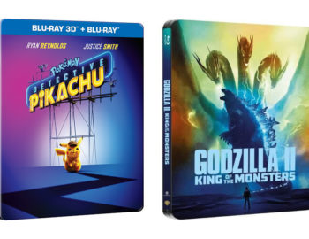Steelbooki z Detektyw Pikachu i Godzilla II: Król potworów dostępne w Media Markt