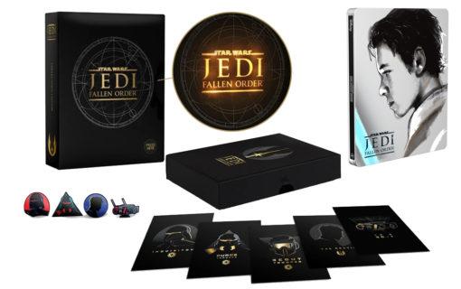 Star Wars Jedi: Upadły Zakon z kolekcjonerskim pudełkiem i Steelbookiem