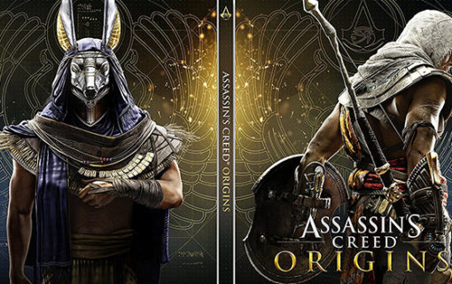 Dodatkowy steelbook z Assassin's Creed Origins