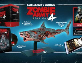 Edycja kolekcjonerska Zombie Army 4: Dead War z figurką rekina