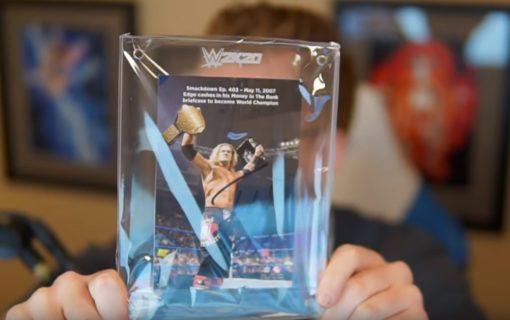 Kolekcjonerka WWE 2K20 na unboxingu