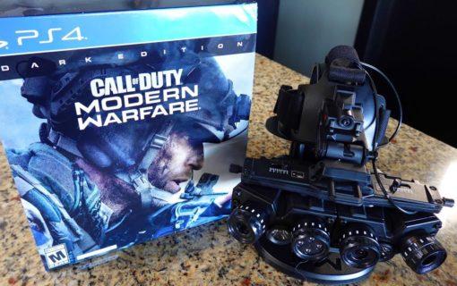 Zawartość Call of Duty: Modern Warfare Dark Edition na unboxingu