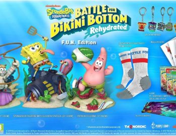 SpongeBob SquarePants: Battle for Bikini Bottom – Rehydrated z dwoma kolekcjonerkami