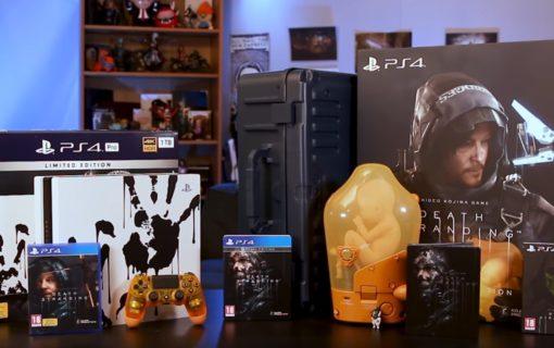 Limitowane wydania Playstation 4 i gry Death Stranding na oficjalnym unboxingu