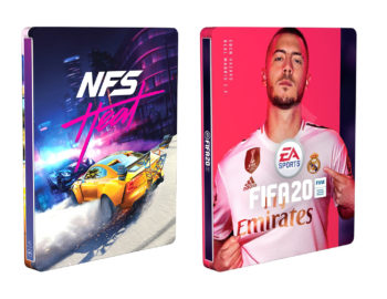 Steelbooki z FIFA 20 i Need for Speed Heat jako gratisy w Euro