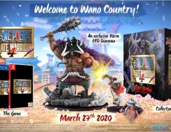 One Piece Pirate Warriors 4 z kolekcjonerkim wydaniem Kaido Edition