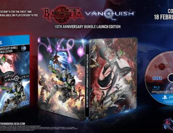 Steelbook z Bayonetta i Vanquish na 10-lecie premiery
